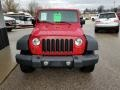 Jeep Wrangler Unlimited X 4x4 Flame Red photo #8