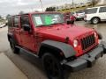 Jeep Wrangler Unlimited X 4x4 Flame Red photo #23