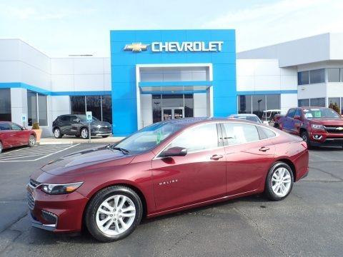 Butte Red Metallic 2016 Chevrolet Malibu LT