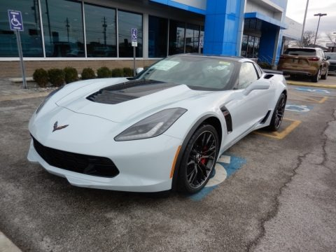Ceramic Matrix Gray Metallic 2019 Chevrolet Corvette Z06 Coupe