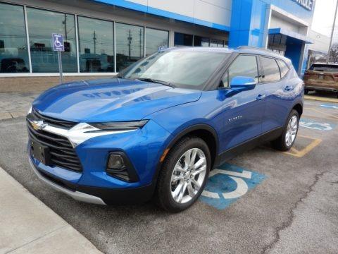Kinetic Blue Metallic 2019 Chevrolet Blazer 3.6L Leather AWD