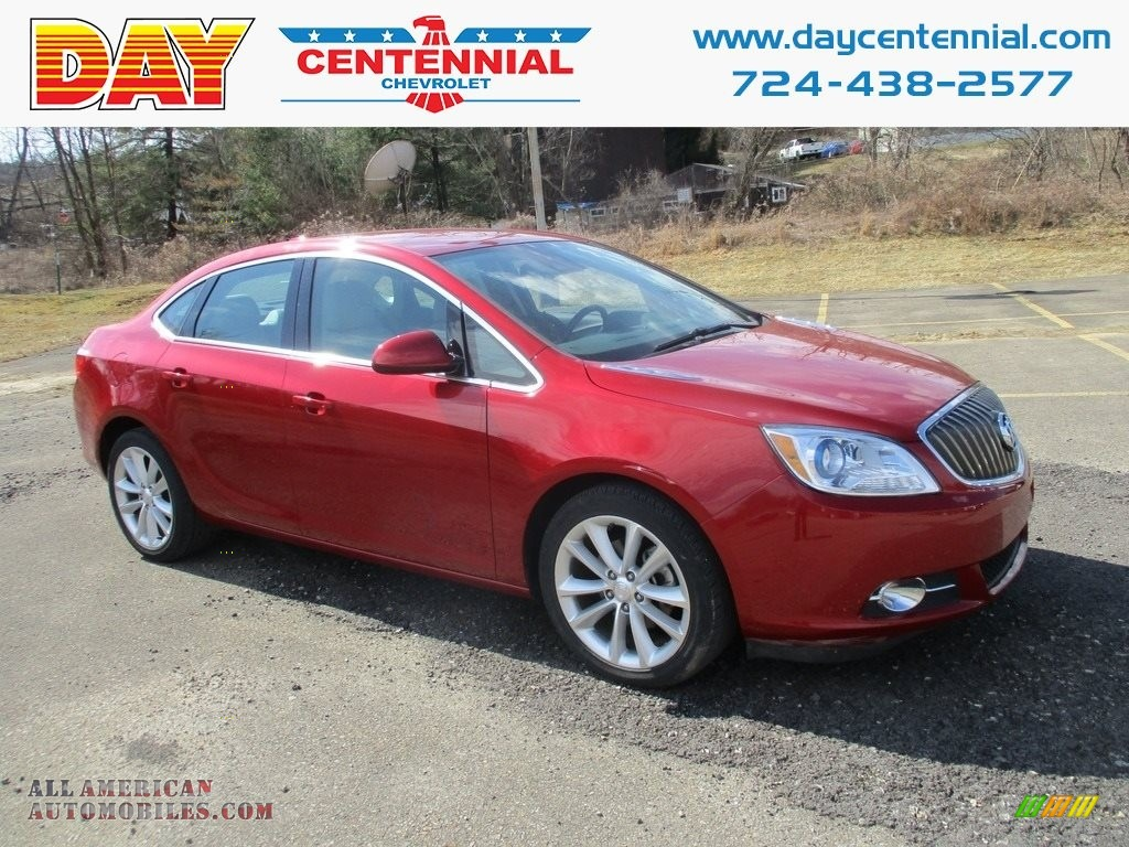 Crystal Red Tintcoat / Cashmere Buick Verano Convenience Group