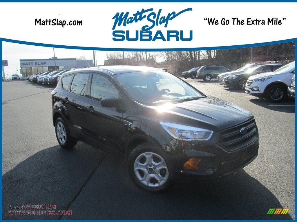 Shadow Black / Charcoal Black Ford Escape S