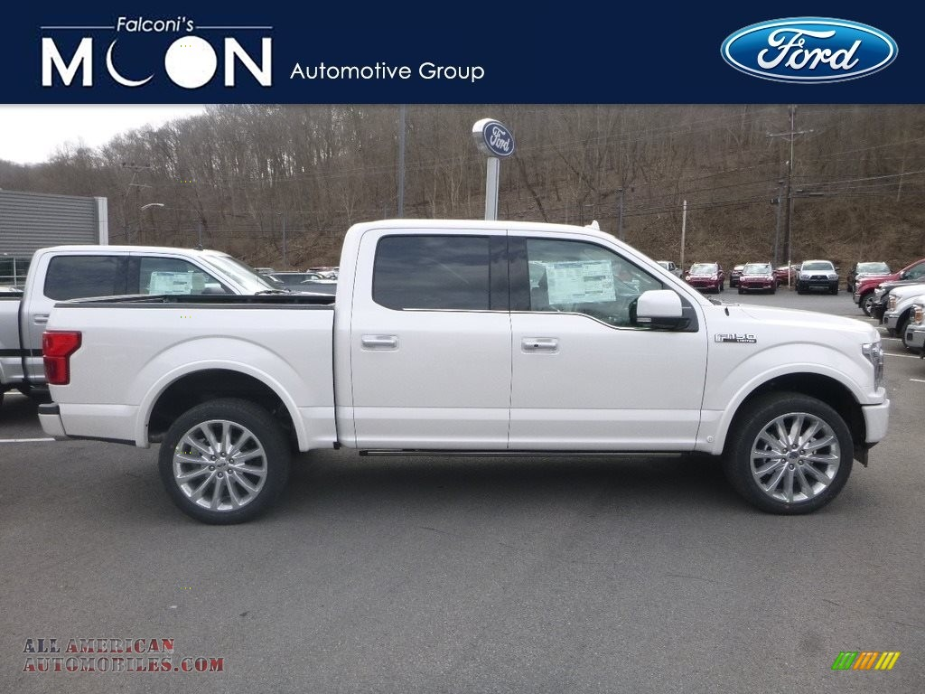 White Platinum / Limited Camelback Ford F150 Limited SuperCrew 4x4