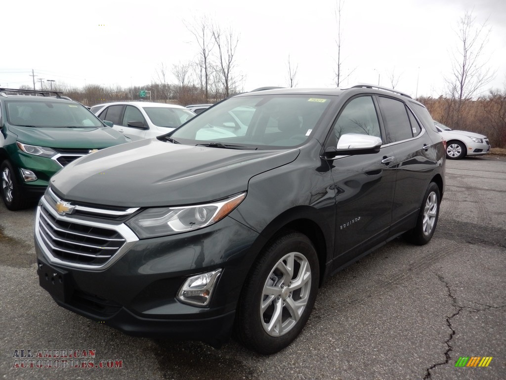 Nightfall Gray Metallic / Jet Black Chevrolet Equinox Premier