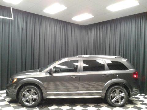 Granite Crystal Metallic 2016 Dodge Journey Crossroad Plus