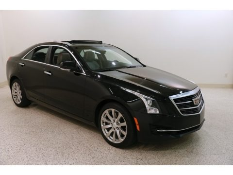 Black Raven 2017 Cadillac ATS Luxury AWD