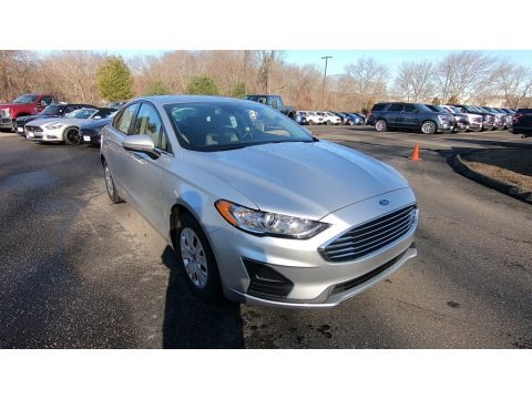 Ingot Silver 2019 Ford Fusion S