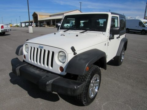 Stone White 2008 Jeep Wrangler X 4x4 Right Hand Drive