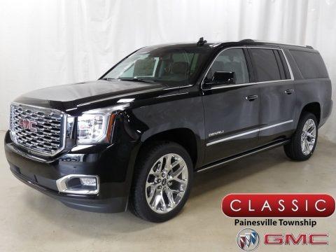 Onyx Black 2019 GMC Yukon XL Denali 4WD