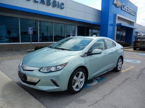 Green Mist Metallic 2019 Chevrolet Volt LT