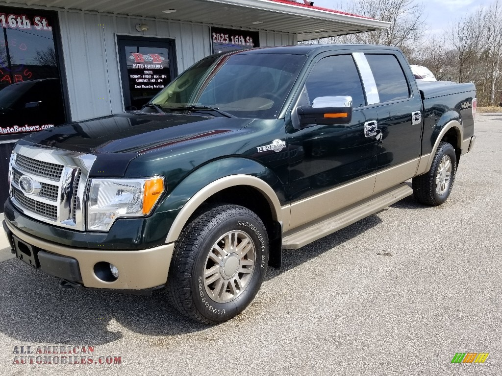 Green Gem Metallic / King Ranch Chaparral Leather Ford F150 King Ranch SuperCrew 4x4