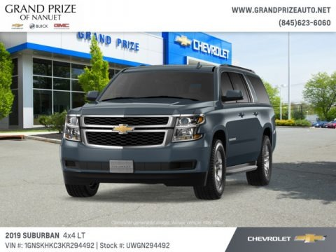 Shadow Gray Metallic 2019 Chevrolet Suburban LT 4WD