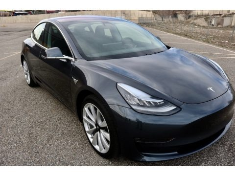 Midnight Silver Metallic 2018 Tesla Model 3 Long Range