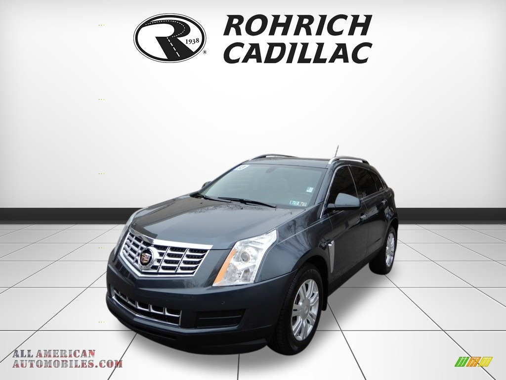 Gray Flannel Metallic / Light Titanium/Ebony Cadillac SRX Luxury AWD