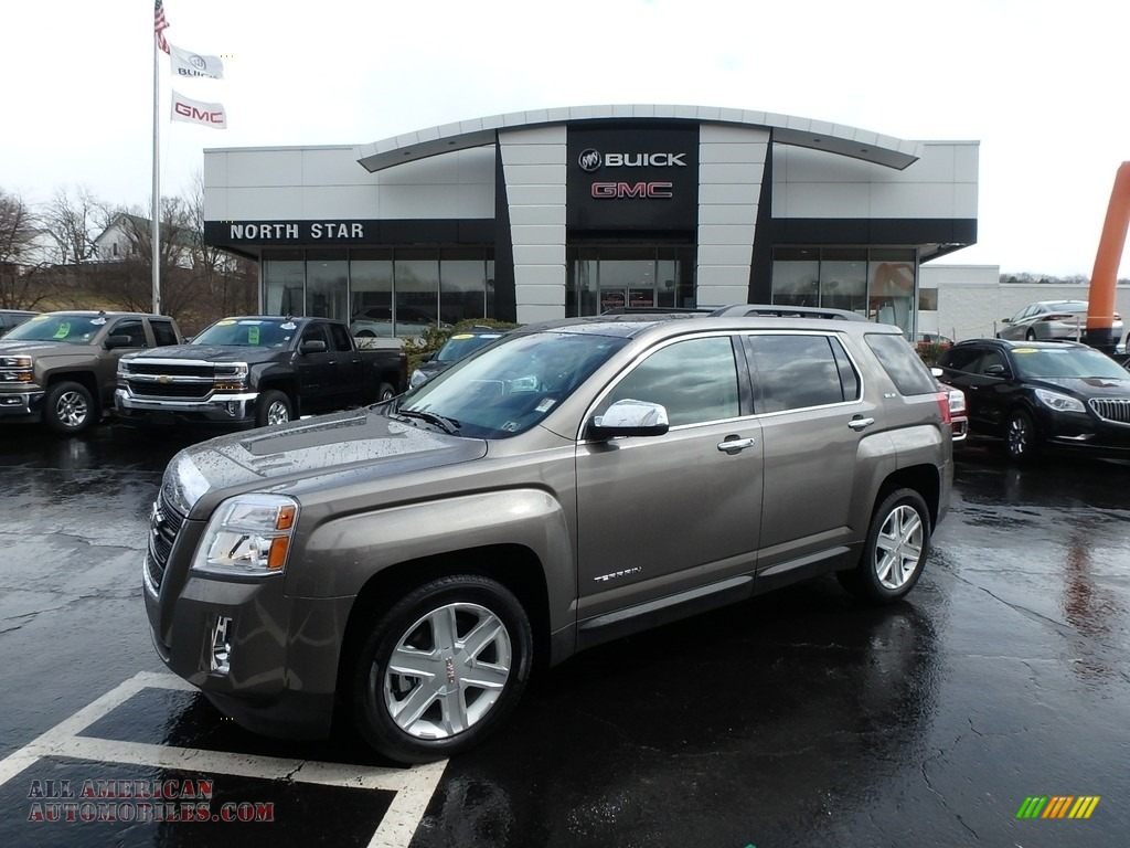 Mocha Steel Metallic / Jet Black GMC Terrain SLE AWD