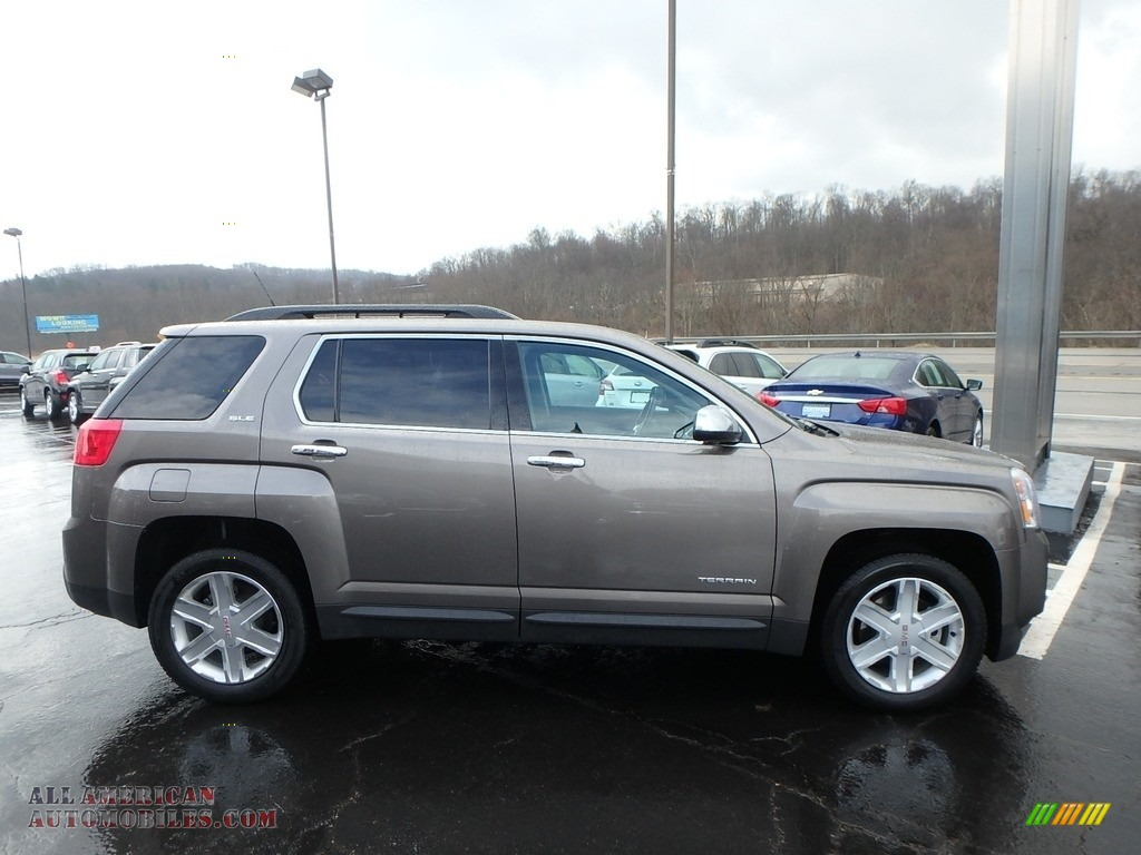 2012 Terrain SLE AWD - Mocha Steel Metallic / Jet Black photo #5