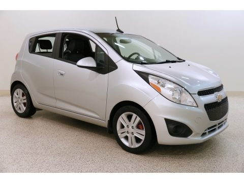 Silver Ice 2014 Chevrolet Spark LS
