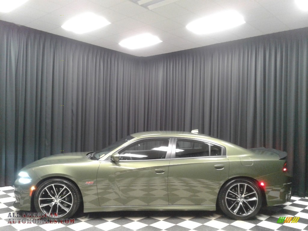 2018 Charger R/T Scat Pack - F8 Green / Black photo #1