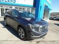 GMC Terrain SLT AWD Blue Steel Metallic photo #3