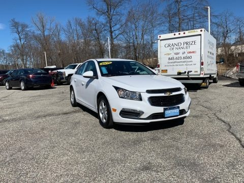 Summit White 2016 Chevrolet Cruze Limited LT