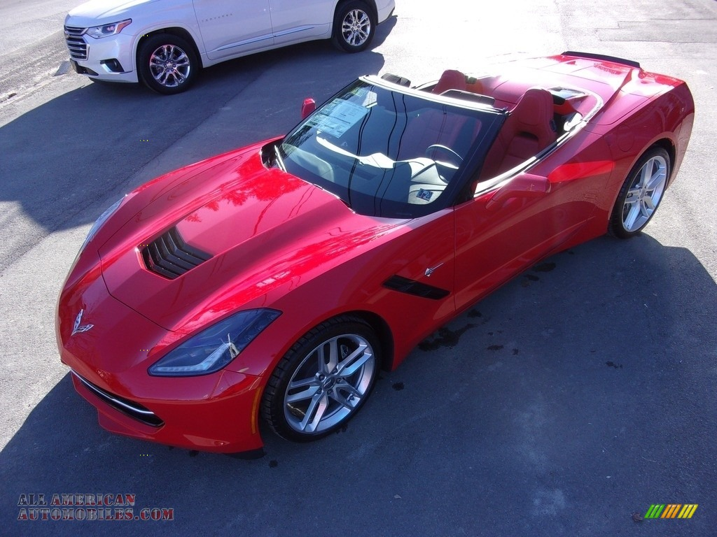 2019 Corvette Stingray Convertible - Torch Red / Adrenaline Red photo #1
