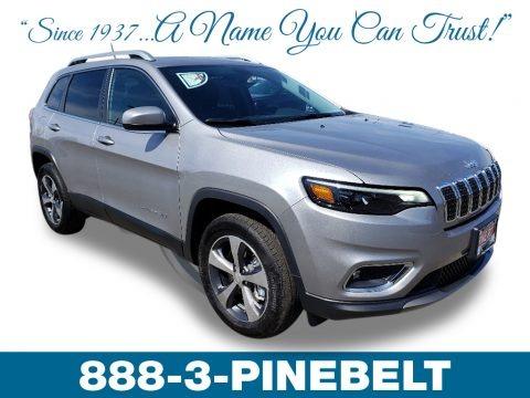Billet Silver Metallic 2019 Jeep Cherokee Limited 4x4