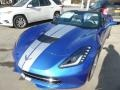 Chevrolet Corvette Stingray Convertible Elkhart Lake Blue Metallic photo #2