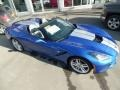 Chevrolet Corvette Stingray Convertible Elkhart Lake Blue Metallic photo #5