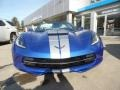 Chevrolet Corvette Stingray Convertible Elkhart Lake Blue Metallic photo #6