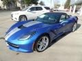 Chevrolet Corvette Stingray Convertible Elkhart Lake Blue Metallic photo #8
