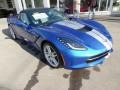 Chevrolet Corvette Stingray Convertible Elkhart Lake Blue Metallic photo #10