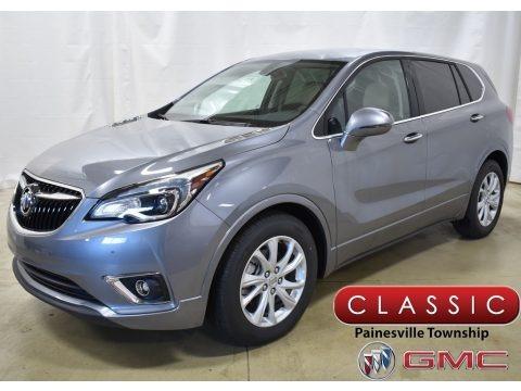 Satin Steel Gray Metallic 2019 Buick Envision Preferred