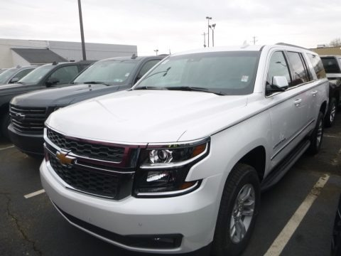 Iridescent Pearl Tricoat 2019 Chevrolet Suburban LT 4WD