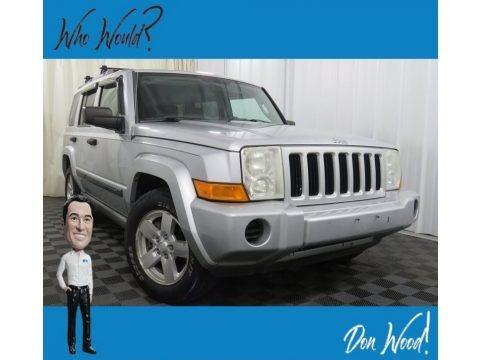 Bright Silver Metallic 2006 Jeep Commander 4x4