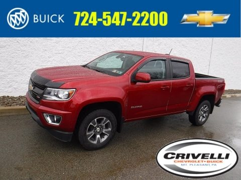 Red Rock Metallic 2016 Chevrolet Colorado Z71 Crew Cab 4x4