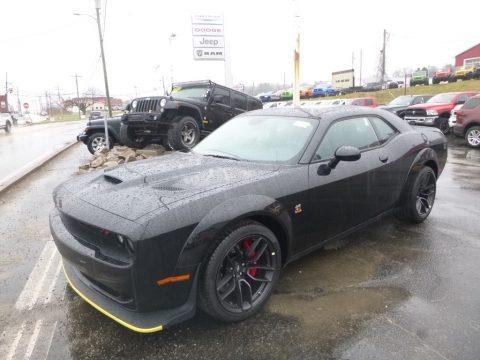 Pitch Black 2019 Dodge Challenger R/T Scat Pack Widebody