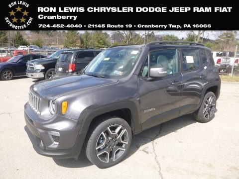 Granite Crystal Metallic 2019 Jeep Renegade Limited 4x4