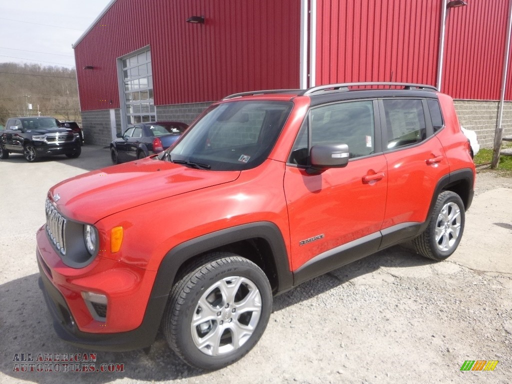 2019 Renegade Limited 4x4 - Colorado Red / Black photo #1