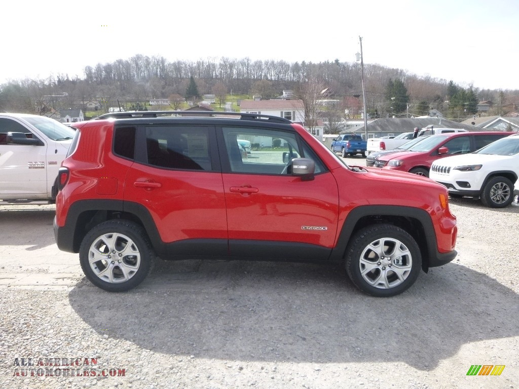 2019 Renegade Limited 4x4 - Colorado Red / Black photo #6