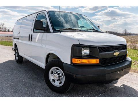 Summit White 2012 Chevrolet Express 2500 Cargo Van