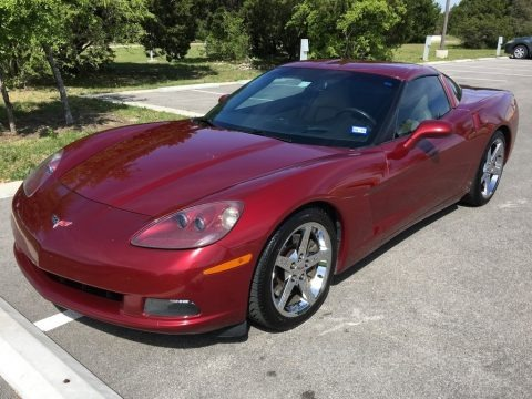 Monterey Red Metallic 2007 Chevrolet Corvette Coupe