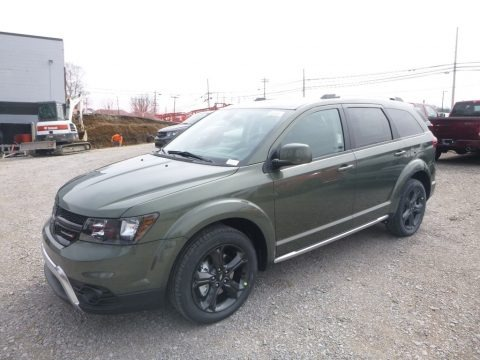Olive Green Pearl 2019 Dodge Journey Crossroad AWD