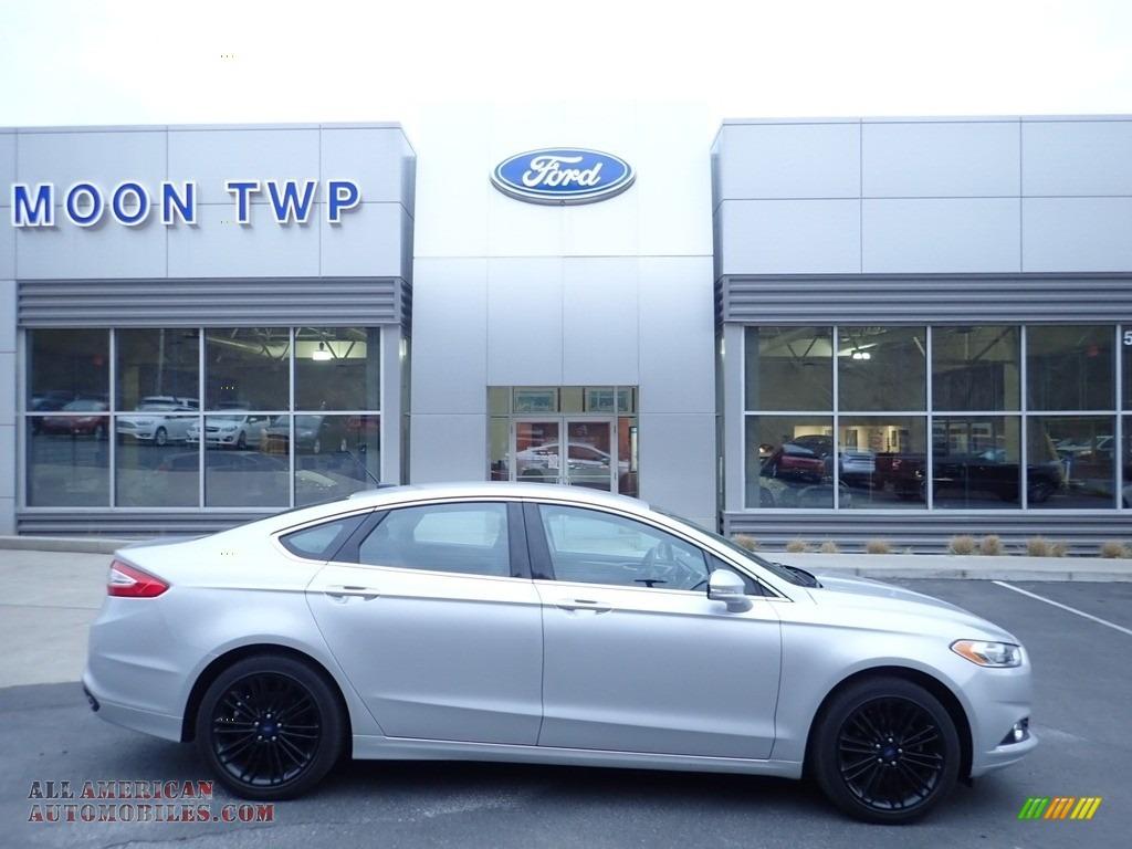 2016 Fusion SE AWD - Ingot Silver Metallic / Charcoal Black photo #1