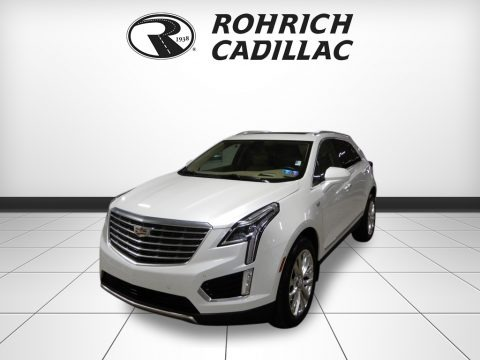 Crystal White Tricoat 2017 Cadillac XT5 Platinum AWD