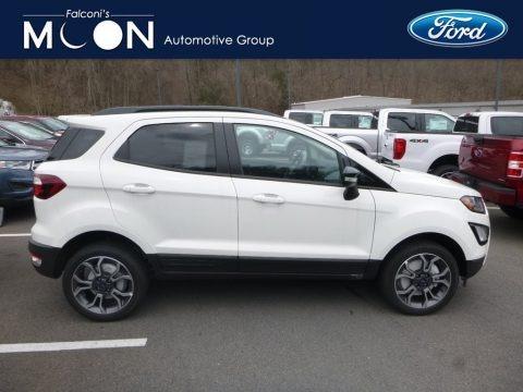 Diamond White 2019 Ford EcoSport SES 4WD