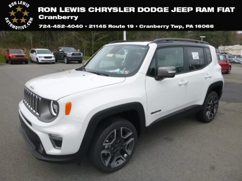 Alpine White 2019 Jeep Renegade Limited 4x4