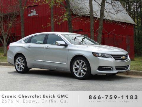 Silver Ice Metallic 2019 Chevrolet Impala Premier