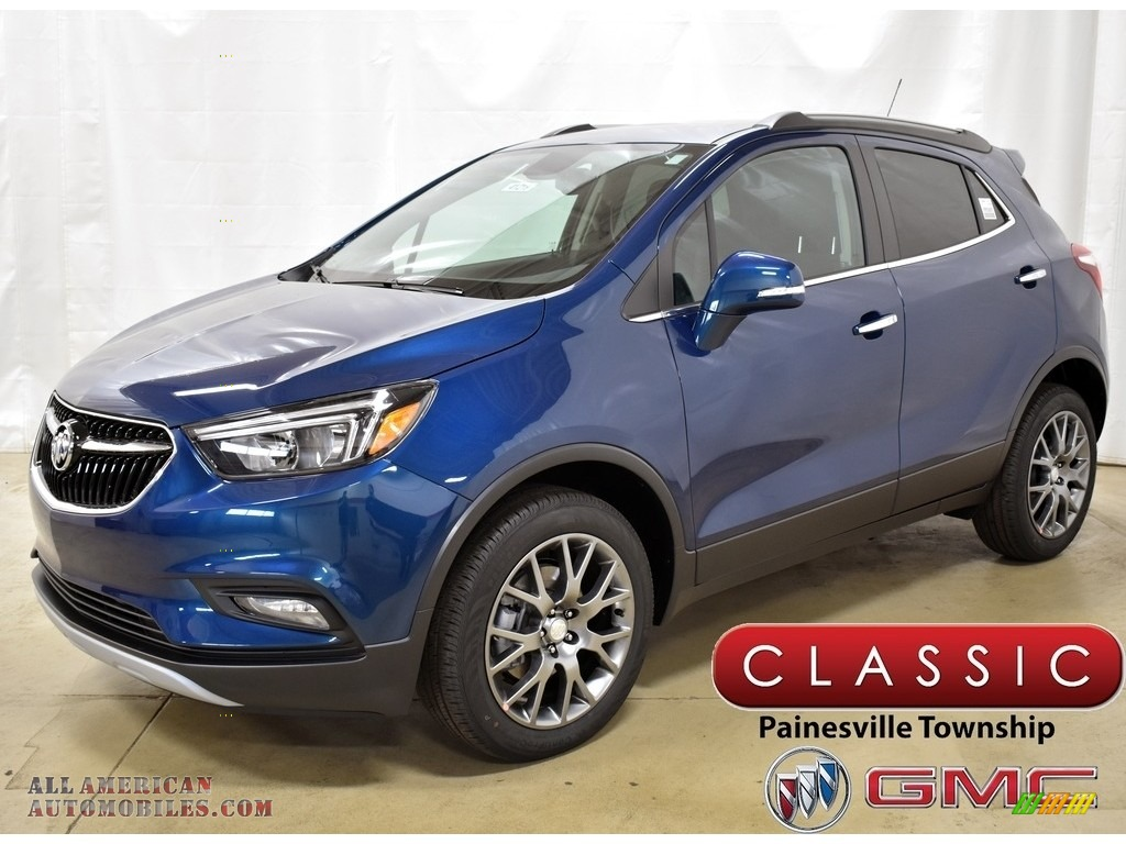 2019 Encore Sport Touring AWD - Deep Azure Metallic / Ebony photo #1