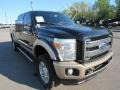 Ford F350 Super Duty Lariat Crew Cab 4x4 Tuxedo Black photo #49